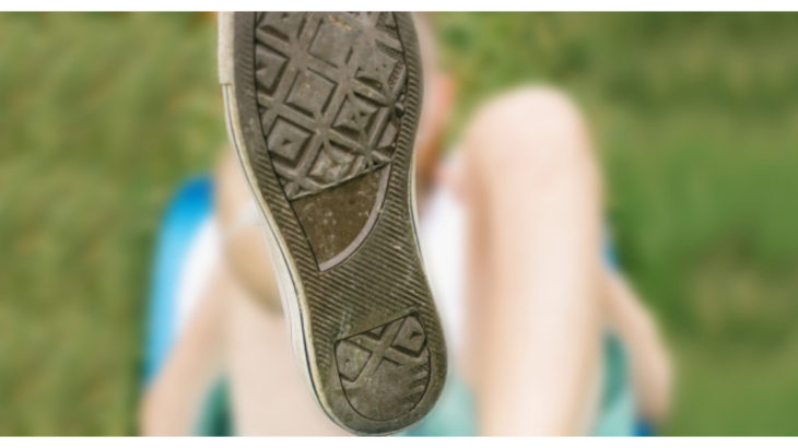 靴の裏の減り方であなたの状態がわかります