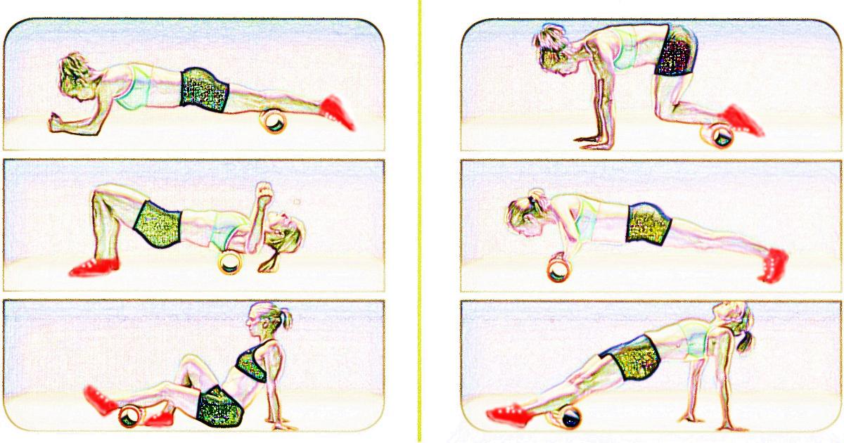 トリガーポイントによるコアトレーニング