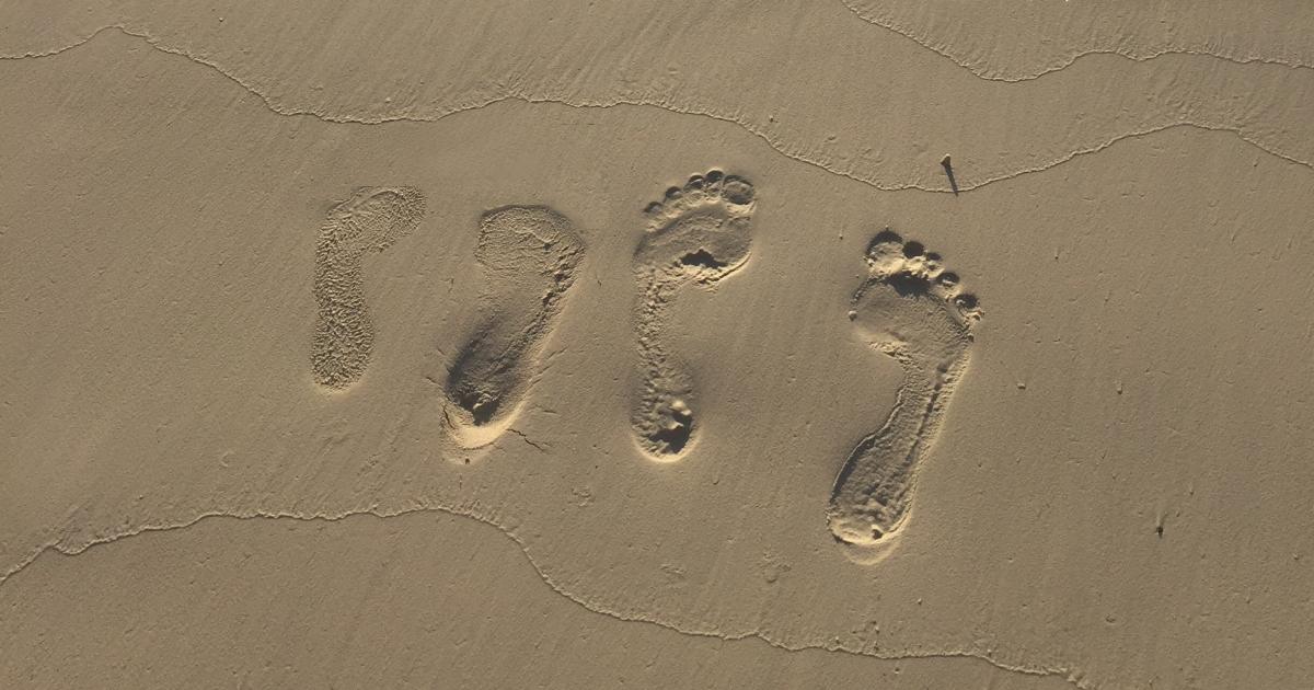 浮指の足跡