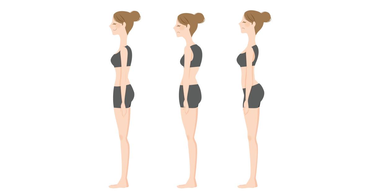 足圧バランスによる姿勢の変化